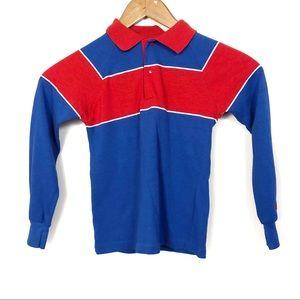 OshKosh B'Gosh Vintage 80's Boys Striped Shirt